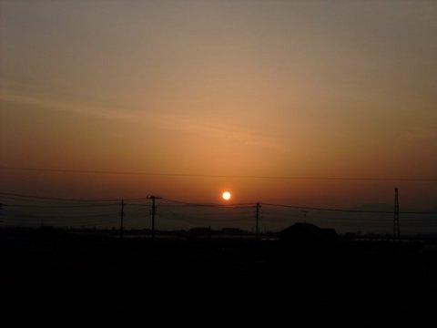 陽は沈み 陽は昇る
